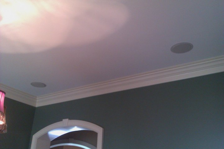 Ceiling Speaker Home Theater Installation
