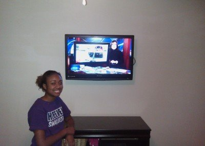 TV Mount Charlotte Satisfied Customer Jalen Cathey