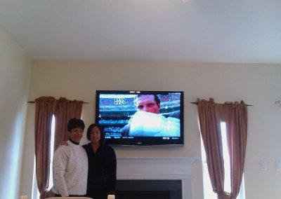 TV Mount Charlotte Satisfied Customer