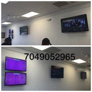 commercial tv installation