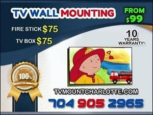 TV Mount Charlotte tv mounting service price and quote flyer (2)
