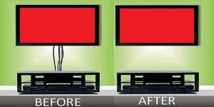 TV Mount Wire Concealing In Wall Wiring Hide TV Wires