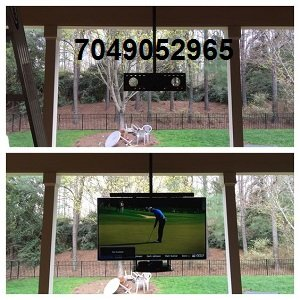 outdoor tv mounting ceiling mount