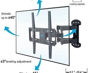 Single Stud TV Mounting