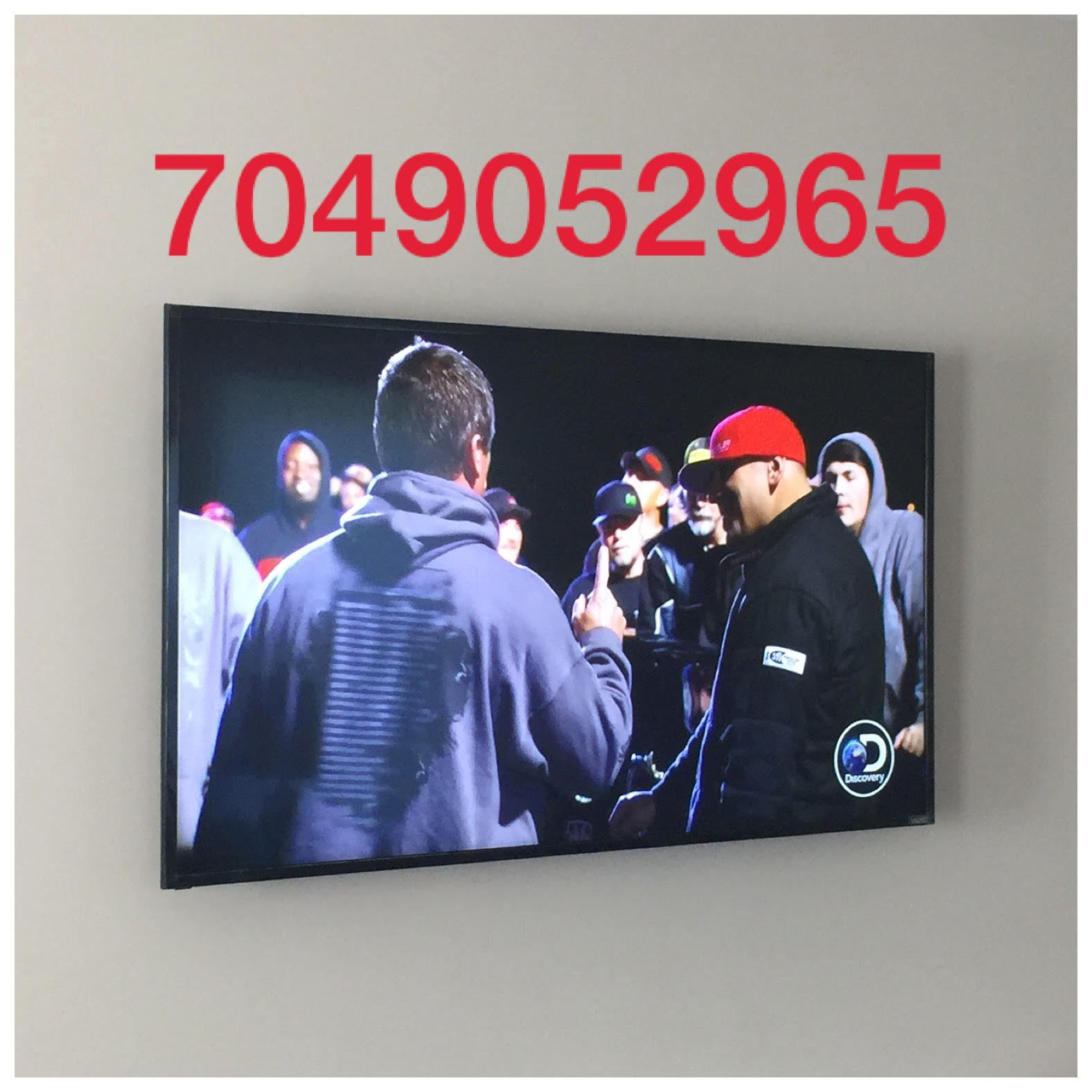 TV Mounting Service Charlotte Photo With TV Installer Phone Number